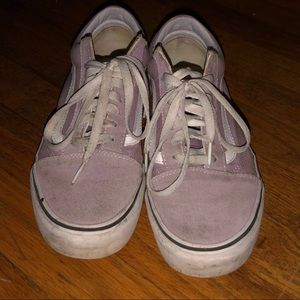 Old Skool lavender Vans